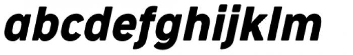 Cocogoose Narrow Italic Font LOWERCASE