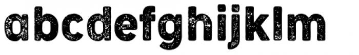 Cocogoose Narrow Letterpress Font LOWERCASE