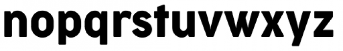 Cocogoose Narrow Regular Font LOWERCASE
