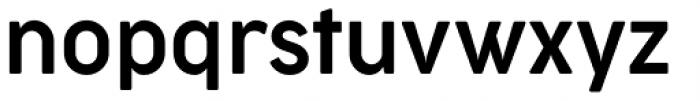 Cocogoose Narrow Semilight Font LOWERCASE