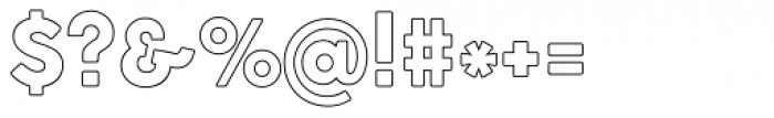 Cocogoose Pro Block Border Font OTHER CHARS