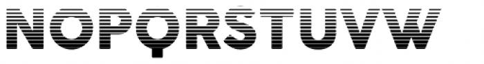 Cocogoose Pro Block Gradient Font UPPERCASE