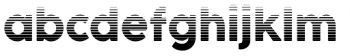 Cocogoose Pro Block Gradient Font LOWERCASE
