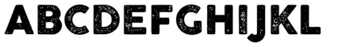 Cocogoose Pro Letterpress Font UPPERCASE