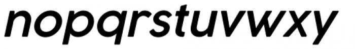 Cocogoose Pro Semi Light Italic Font LOWERCASE