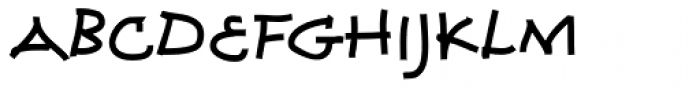 Coconino Font UPPERCASE