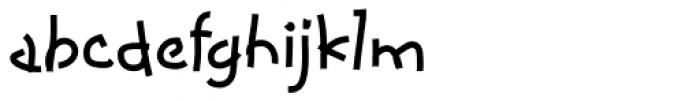 Coconino Font LOWERCASE