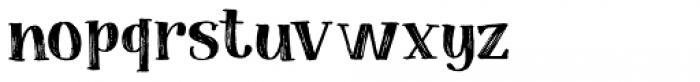 Coconut Punch Font LOWERCASE