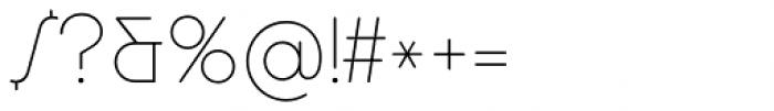 Cocosignum Corsivo Italico UltraLight Font OTHER CHARS