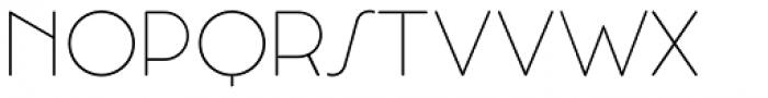 Cocosignum Corsivo Italico UltraLight Font UPPERCASE