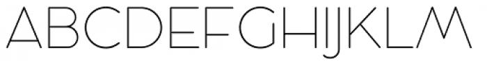 Cocosignum Maiuscoletto UltraLight Font UPPERCASE