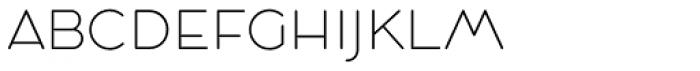 Cocosignum Maiuscoletto UltraLight Font LOWERCASE