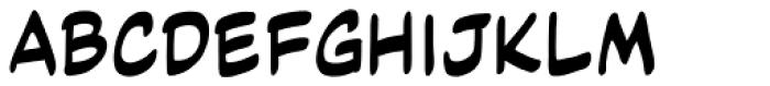 Code Monkey Variable Regular Font UPPERCASE