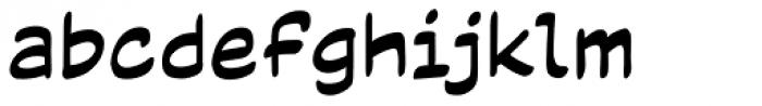Code Monkey Variable Regular Font LOWERCASE