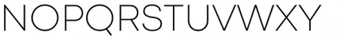 Codec Pro Extra Light Font UPPERCASE