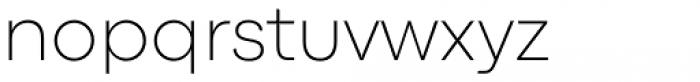 Codec Pro Extra Light Font LOWERCASE