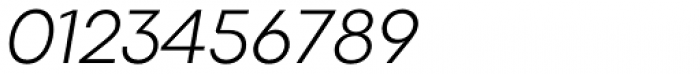 Codec Pro Light Italic Font OTHER CHARS