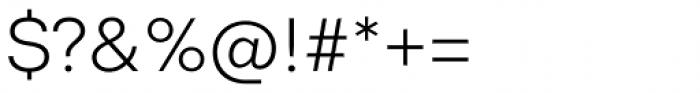 Codec Pro Light Font OTHER CHARS