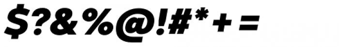 Codec Warm Heavy Italic Font OTHER CHARS