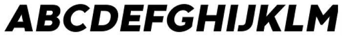 Codec Warm Heavy Italic Font UPPERCASE