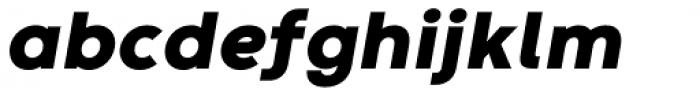 Codec Warm Heavy Italic Font LOWERCASE