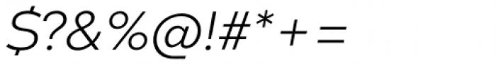 Codec Warm Logo Light Italic Font OTHER CHARS