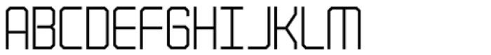 Codiga Gris Font UPPERCASE