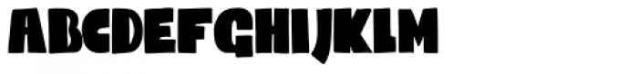 Codswallop Condensed Font LOWERCASE