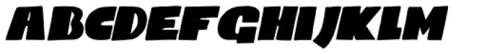 Codswallop Italic Font LOWERCASE