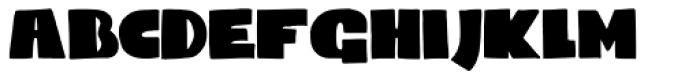 Codswallop Font LOWERCASE