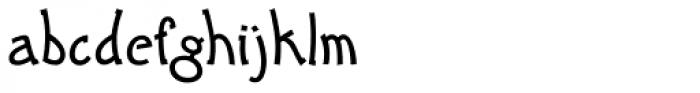 Cody Font LOWERCASE