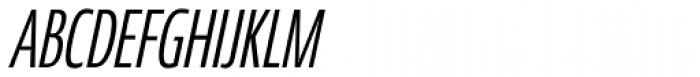 Coegit Compact Italic Font UPPERCASE