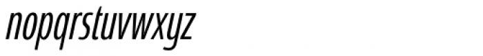 Coegit Compact Italic Font LOWERCASE