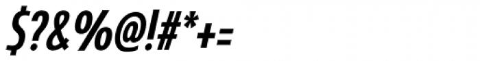 Coegit Condensed Medium Italic Font OTHER CHARS