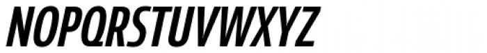 Coegit Condensed Medium Italic Font UPPERCASE