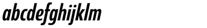 Coegit Condensed Medium Italic Font LOWERCASE