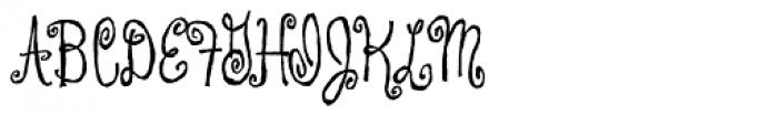 Coffee Drinker Font UPPERCASE