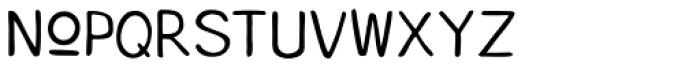 Coffee Morning Sans Font LOWERCASE