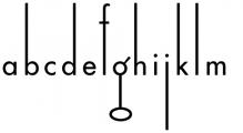 Coffee Shop Font LOWERCASE