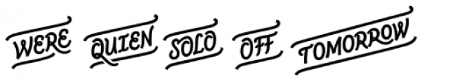 CoffeeBreak Words Bold Font LOWERCASE