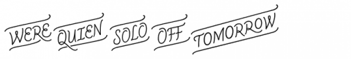 CoffeeBreak Words Font LOWERCASE