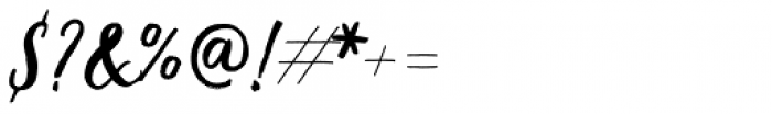 Coiffeur Script Font OTHER CHARS