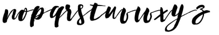 Coiffeur Script Font LOWERCASE