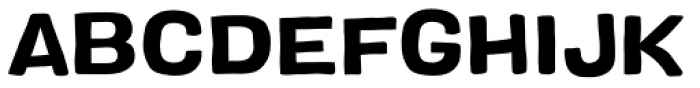 Colby Extended Bold Font UPPERCASE