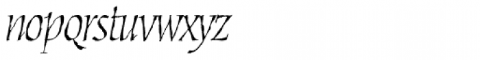 Cold Mountain Lx Italic Font LOWERCASE