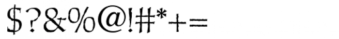 Cold Mountain Regular Font OTHER CHARS