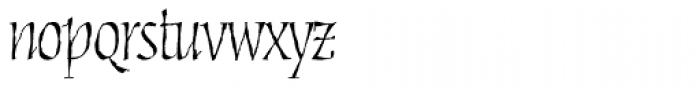 Cold Mountain Regular Font LOWERCASE