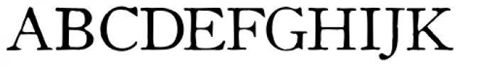 Coldstyle Font UPPERCASE
