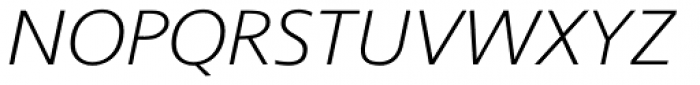 Coleface 33 Light Italic Font UPPERCASE