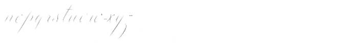 Colesberg Script Inline Font LOWERCASE